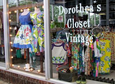 Dorothea's Closet Vintage Clothing Shop Des Moines Iowa